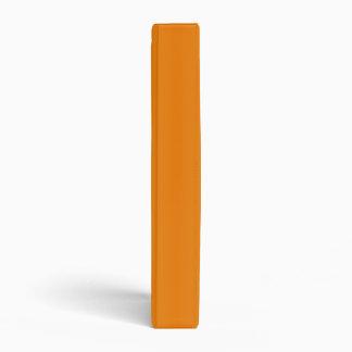 V Bi-Linear Gradient-Light Orange and Dark Orange 3 Ring Binders