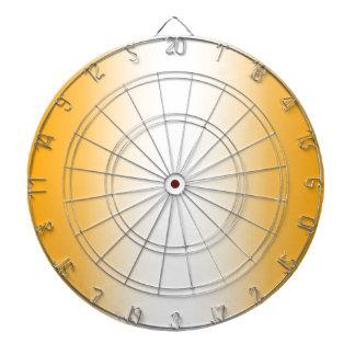 V Bi-Linear Gradient - Orange and White Dart Board
