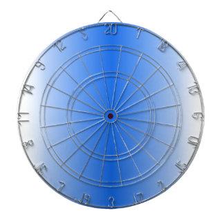 V Bi-Linear Gradient - White and Blue Dart Boards