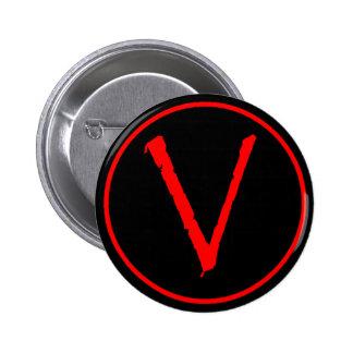 V botón pin