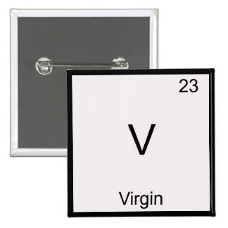 V - Camiseta divertida del símbolo del elemento de Pins
