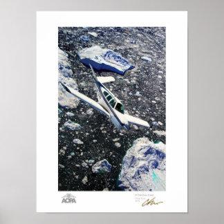 V-Cola sobre galería del fiordo Impresiones