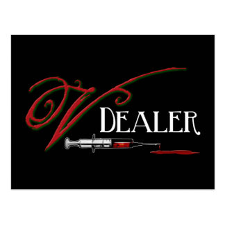V Dealer - Vampire Blood Postcard