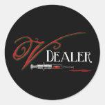 V Dealer - Vampire Blood Stickers