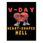 V-Día anti Tarjeta Postal