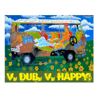 V. Dub, V.Happy! Postcard