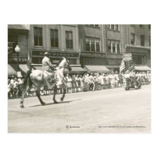V.E. Day Parade 1945 Postcard