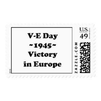 V-E Day - Victory in Europe Day (VE Day) Postage