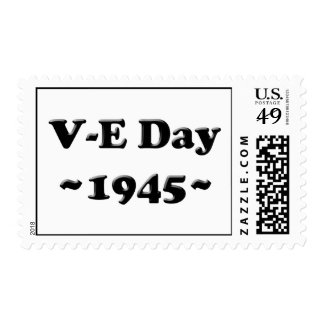 V-E Day - Victory in Europe Day (VE Day) Postage Stamp