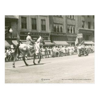 V.E. Desfile 1945 del día Tarjetas Postales