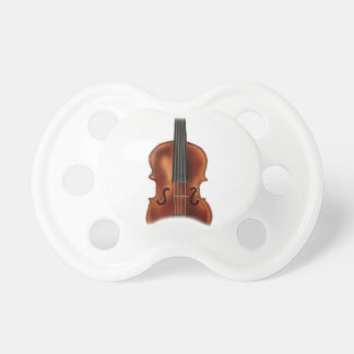 V está para el violín chupetes de bebé
