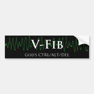 V Fib Bumper Sticker