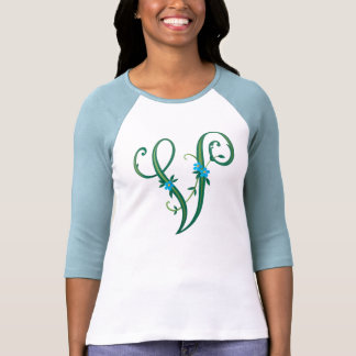 V for Vegan T Shirts
