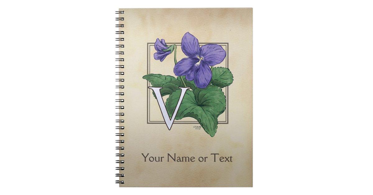 V for Violet Flower Al...V Is For Violet
