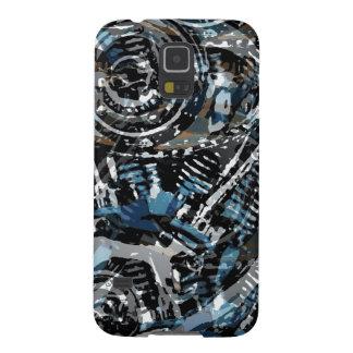 V-Gemelo abstracto Fundas De Galaxy S5