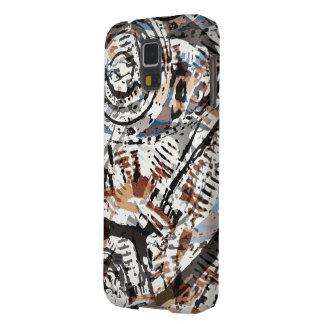 V-Gemelo abstracto reverso Funda De Galaxy S5