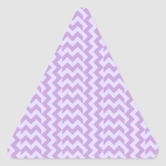 V&H Simple Wide Zigzag-Wisteria and Pale Lavender Stickers