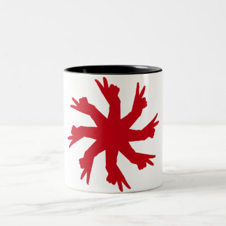V Hands Mug