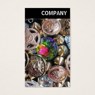 V Header - Flea Market Bling Business Card