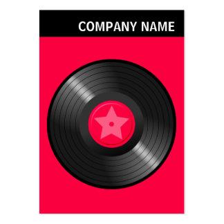 V Header - Image - LP Record Large Business Card
