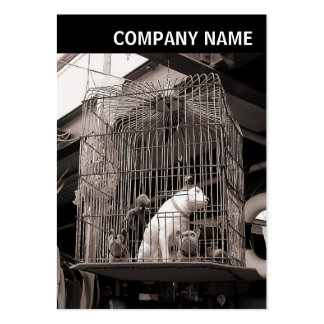 V Header - Photo - Caged Beasts Large Business Card