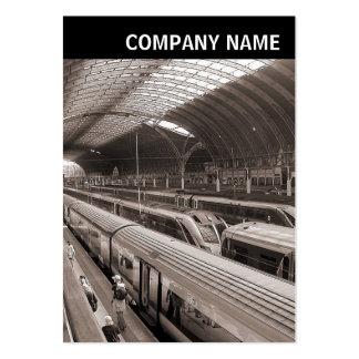V Header - Photo - Paddington Station London Large Business Card