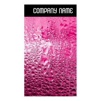 V Header - Steamy Pink Business Card