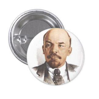 V.I. Botón de Lenin Pin Redondo De 1 Pulgada