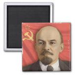 V.I. Imán cuadrado de Lenin
