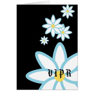 V I P R April's Birth Flower-Customize Card