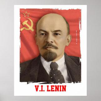 V.I. Poster de Lenin