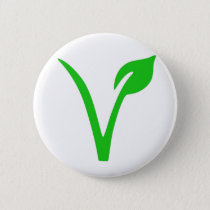 V is for Vegan Button