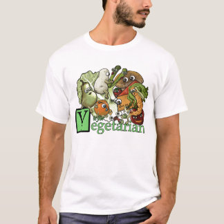V is for Vegetarian T-Shirt