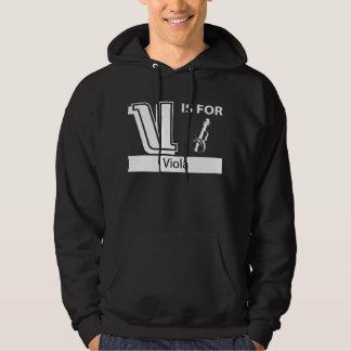 V Is For Viola Hoodie