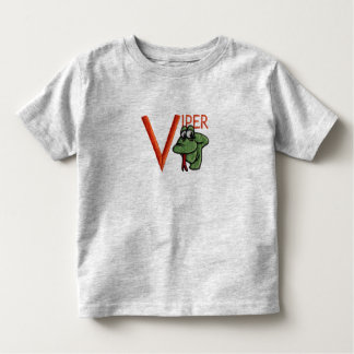 V is for Viper Toddler T-shirt