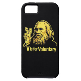 V is for Voluntary iPhone SE/5/5s Case