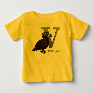 V is for Vulture Baby T-Shirt