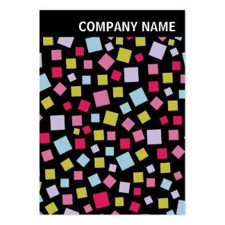 V jefe - foto - colores de conexión en cascada en  plantilla de tarjeta personal