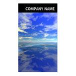 V jefe - foto - mar y cielo plantillas de tarjetas personales