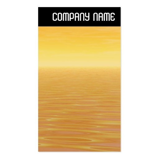 V jefe - mar de oro tarjeta personal