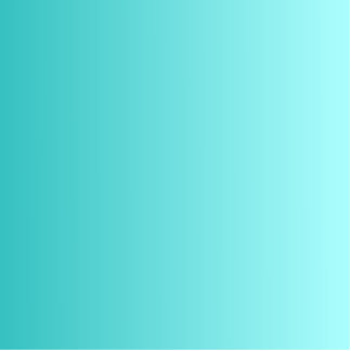 V Linear Gradient - Turquoise to Light Cyan Cutout