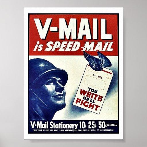 V-Mail Poster