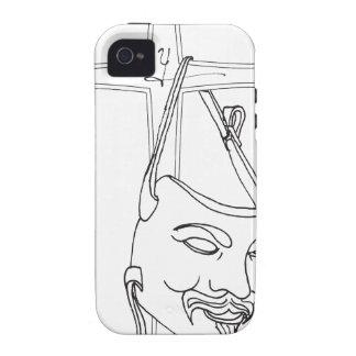 v máscara final pdf iPhone 4/4S fundas