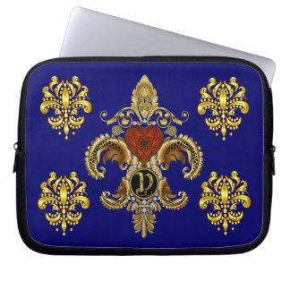 V Monogram Premium Best viewed large. see notes Laptop Sleeve