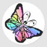 V~My Spring Butterfly initial Stickers