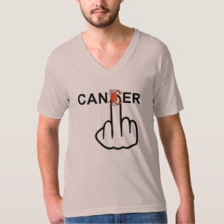V-Neck Cancer Flip Shirt