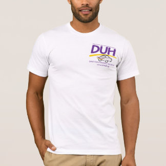 V-neck DUH Logo shirt