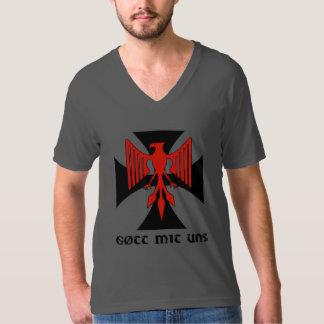 V-Neck Haus Nürnberg Gott mit uns shirt