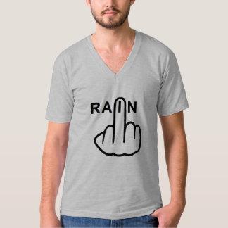 V-Neck Rain Flip T-Shirt