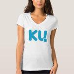 V para Ku (mujeres) Playera